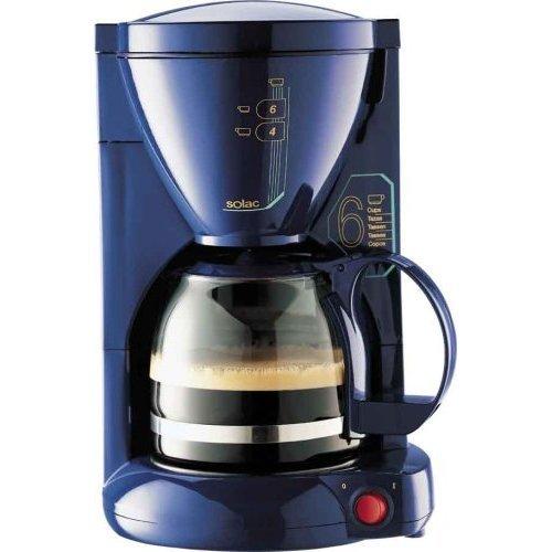 Solac C135AZ - Cafetera (Cafetera de filtro, 550 W, Azul ...
