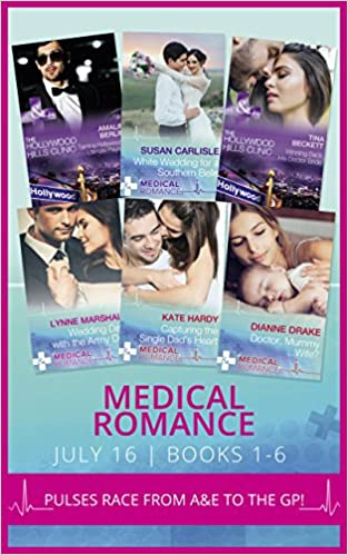 Download online Medical Romance July 2016 Books 1-6: Taming Hollywood's Ultimate Playboy / Winning Back His Doctor Bride / White Wedding for a Southern Belle / Wedding ... (The Hollywood Hills Clinic, Book 7) PDF