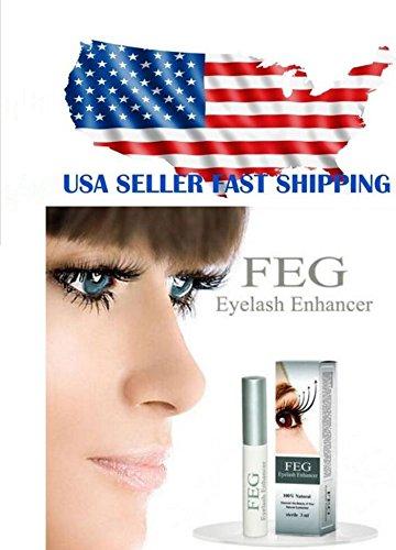 a390e14d95b Amazon.com : FEG Eyelash Enhancer Eye Lash Rapid Growth Serum Liquid 100%  ORIGINAL 3ml by U Happy : Everything Else