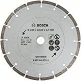 Bosch 2607019477 Disco Diamantato Universale, 230 mm
