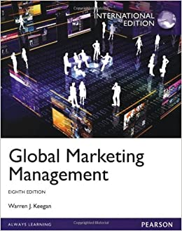 Global Marketing Management by Warren J. Keegan (2013-06-20)