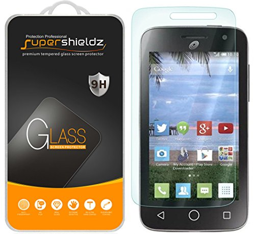 [2-Pack] Supershieldz for Alcatel OneTouch Pop Star 2 LTE (A521L) Tempered Glass Screen Protector, Anti-Scratch, Anti-Fingerprint, Bubble Free, Lifetime Replacement Warranty
