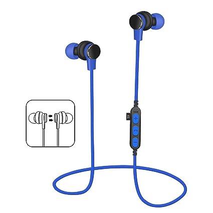 samLIKE Bluetooth Deporte Headset - Auriculares portátil de ...