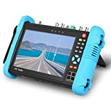 SGEF 7 inch All in One IPS Touch Screen IP Camera Tester Security CCTV Tester Monitor with SDI/TVI/AHD/CVI/POE/WIFI/4K H.265/HDMI in&Out/RJ45-TDR/OPM/VFL 9800MOTVADHS