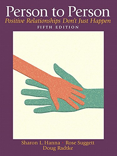 Person to Person: Positive Relationships Don't Just Happen (5th Edition) by Pearson