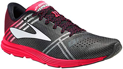 Brooks Women's Hyperion Black/Diva Pink/Diamond Yarn 11 B US