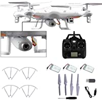 Two Years Drone Helicopter X5C-1 2.4GHz 4CH 6 Axis RC Quadcopter Drone RTF With HD Camera + 2PC Battery