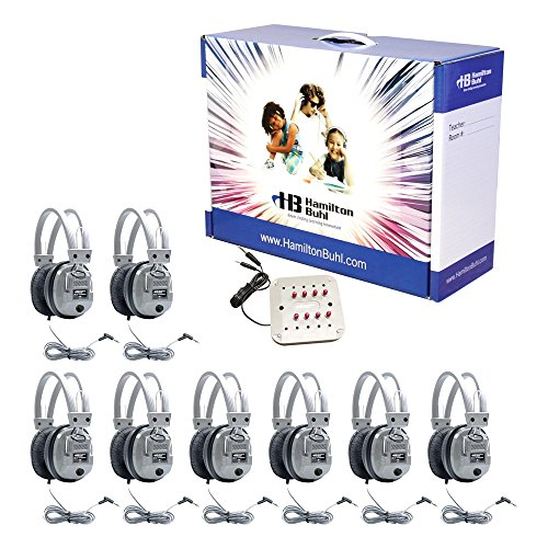 Listening Center with Carry Case - Headphones: Eight, Indivi
