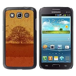 PC/Aluminum Funda Carcasa protectora para Samsung Galaxy Win I8550 I8552 Grand Quattro Vintage Tree / JUSTGO PHONE PROTECTOR