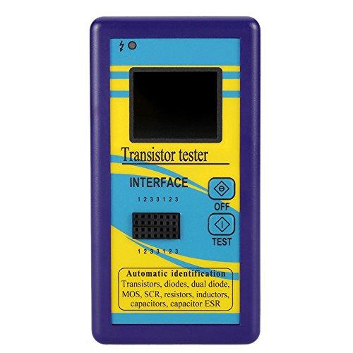 Tutoy 128 X 160 Tft Farbdisplay Multifunktionstransistor Tester Dioden Thyristor Kapazitätswiderstand Induktivität Mosfet Esr LCR Meter