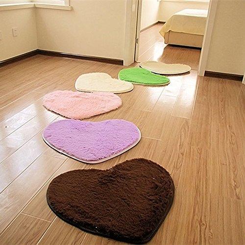 Bathroom Rugs Non Slip Bathroom Mats Memory Foam Bath Mat Best Rugs for Bathroom Soft Absorbent Bathroom Carpet by DocBear(Black,Size:W 17