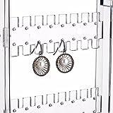 Sooyee 256 Holes 5 Tiers Acrylic Earrings Holder 4