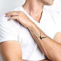 Tatuajes temporales Bird is the Word (18 unidades): Tattify.com ...
