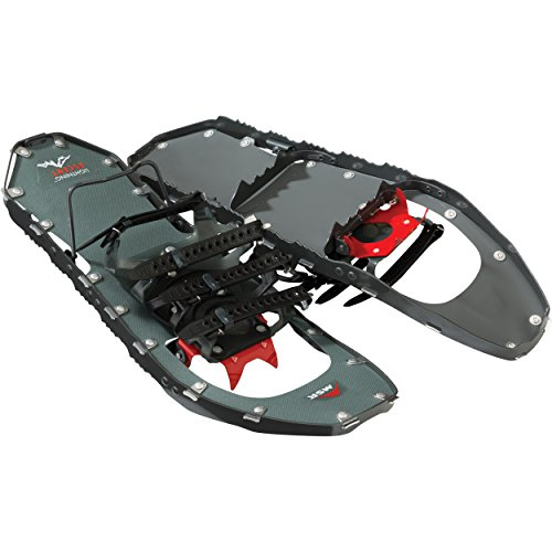 MSR Lightning Ascent Women's Backcountry & Mountaineering Snowshoes, 22-Inch Pair, Gunmetal
