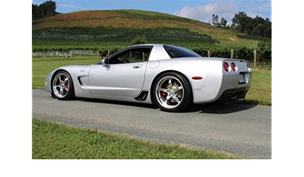 Amazon.com: Poster of Chevy Corvette C5 Turbo Z06 on CCW Wheels Left Side Silver HD 18 X 12 Inch Print: Posters & Prints