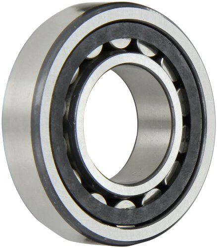 FAG NU207E-TVP2-C3 Cylindrical Roller Bearing, Single Row, Straight Bore, Removable Inner Ring, High Capacity, Polyamide Cage, C3 Clearance, 35mm ID, 72mm OD, 17mm Width