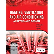 Heating, Ventilating and Air Conditioning: Analysis and Design, 6ed