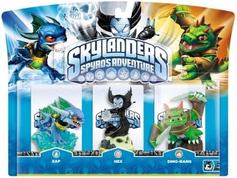 Skylanders Triple Pack E (3 Figuras: Hex, Zap, Dino-Rang): Amazon.es: Videojuegos