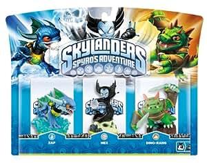 Skylanders Triple Pack E (3 Figuras: Hex, Zap, Dino-Rang)