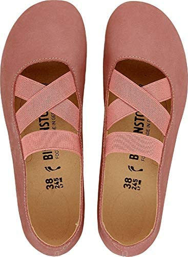 Birkenstock Santa Ana Rose/Old Rose, Nubuck Leather Rosa