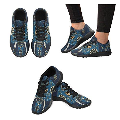 D-story Jogging Running Sneaker Da Donna Casual Comfort Sportivo A Piedi Scarpe Da Corsa Multi10