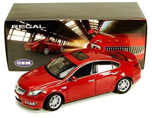 2011 Buick Regal 2.4L Diecast Model Car -CSM 1060