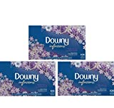 Downy Infusions Lavender Serenity Fabric Softener Dryer Sheets, 105 count --3 Pack