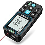 Laser Measure, Acegmet 229Ft M/In/Ft Laser Distance Measure Backlit LCD with Mute Function, Measure...