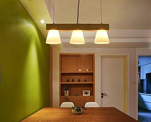 Cttsb nordic semplice luci di legno creativo tre giapponese stile