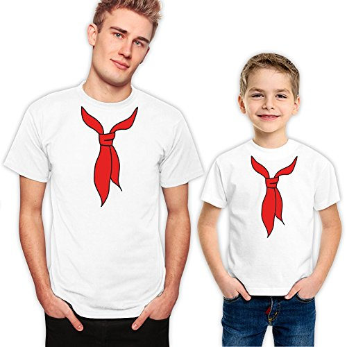 Father and Son Matching Family Shirts Set For Fathers Day Gift 450 XL 0-1 - 450 St Washington
