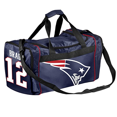 FOCO New England Patriots Tom Brady #12 Core Duffel Bag by FOCO