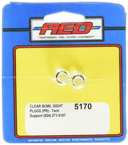 Fuel Bowl Plug (AED 5170 Clear Bowl Sight Plugs - Set of 2)