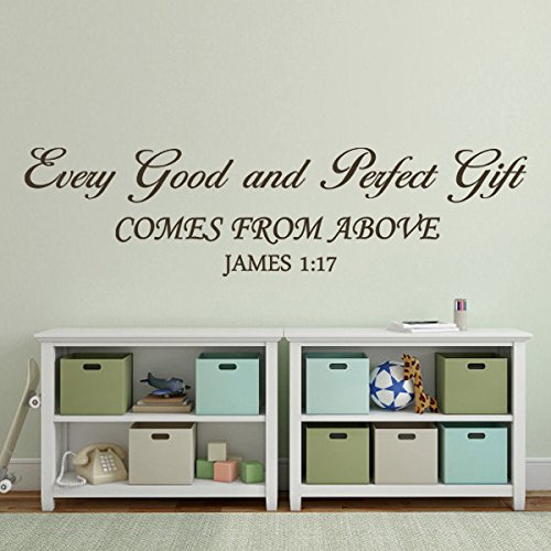 Christian Wall Decor For Nursery : Bible wall decal baby nursery quote christian