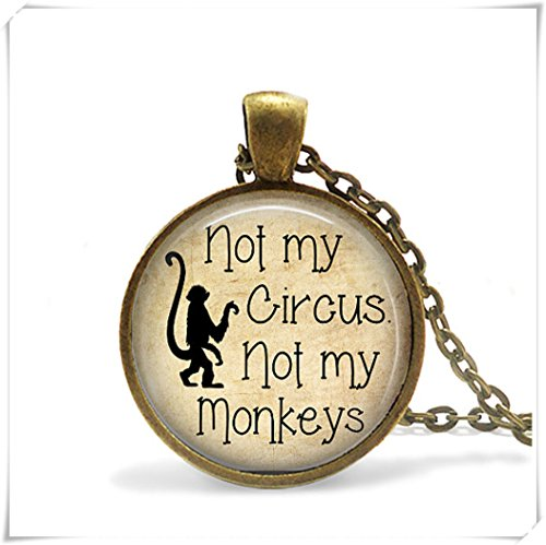Not my Circus, Not my Monkeys - Necklace