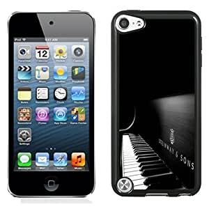 NEW Unique Custom Designed iPod Touch 5 Phone Case With Steinway And Sons Black Piano_Black Phone Case
