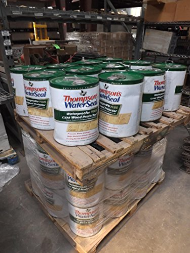lot-of-36-thompsons-waterseal-un5-109438-waterproofer-plus-clear-protector-5-gal-t45566