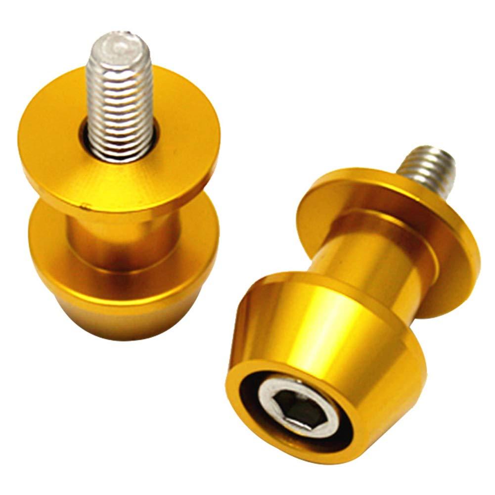 6 millimetrioro 10mm Bobine Vite Supporto Braccio oscillante Accessori Auto Cursori Bobine per Moto 6//8