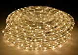 AMERICAN LIGHTING LR-LED-WW-3 3 Foot Warm White 3000 Kelvin LED Flexible Rope Light Kit with Mounting Clips, Warm White