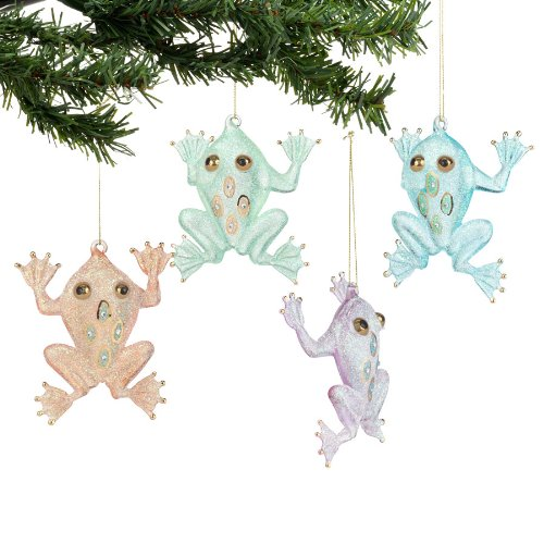 Department 56 Deck The Shores - Frog Ornament