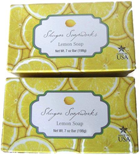 all-natural-shugar-soapworks-lemon-bar-soap-made-in-usa-7-oz-bar-2-packs