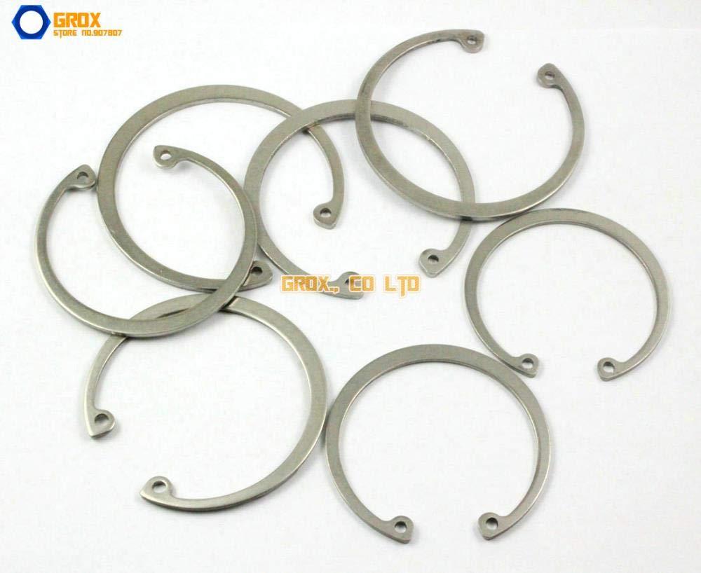 Ochoos 5 Pieces 65mm 304 Stainless Steel Internal Circlip Snap Retaining Ring