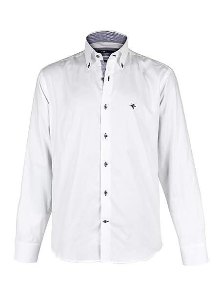 Cotone Bianche Camicie Bianche Uomo Uomo Camicie Puro Puro nwO80PkX