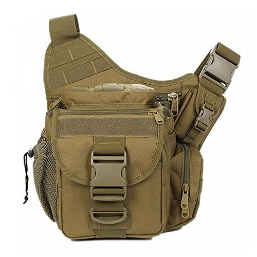 Waterproof 600D Oxford Waist Bag Tactical Molle EDC Outdoor Bag - 8