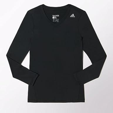 adidas Techfit Women's Lange Hülse Top: : Bekleidung