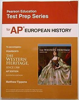 Test Prep For Ap European History Matthew Tippens 9780133114768