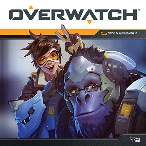 Overwatch 2019 12 x 12 Inch Monthly Square Wall Calendar, Video Game Multiplayer Shooter Blizzard Entertainment (Multilingual Edition)