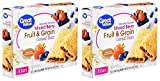Great Value Fruit & Grain Cereal Bars, Mixed Berry, 10.4 oz, 8 Count (Pack of 2)