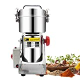 CGOLDENWALL 400g Family Stainless Steel Electric Grain Mill Cereal Spice Grains Herb Grinder Pulverizer Mill