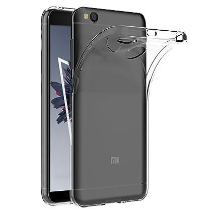 Funda Xiaomi RedMi 4 / 4X Anfire Suave Gel Transparente Carcasa Claro Silicona TPU Case para RedMi 4 / 4X Ultra Delgado Ultra Ligero Flexible Cover ...