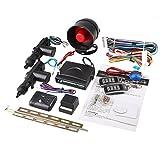 Sedeta® Car security Alarm 2 Door Remote Control Central Lock Locking Kit Set with shock sensor immobiliser